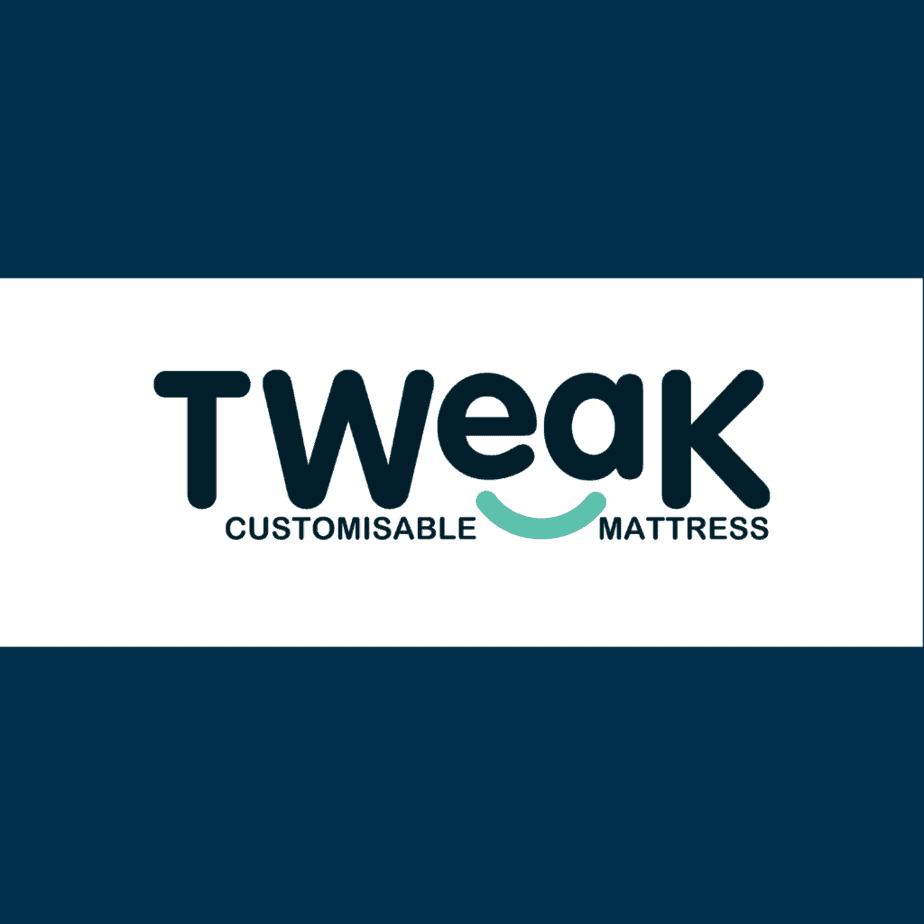 Tweak customisable mattress logo