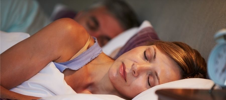 Woman sleeping peacefully - Silver Surfers
